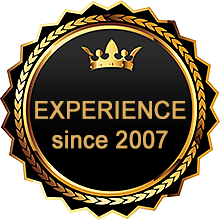 Experience since 2007